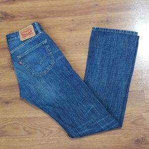 Men's Levi 527 Blue Jean's Size 30 × 34